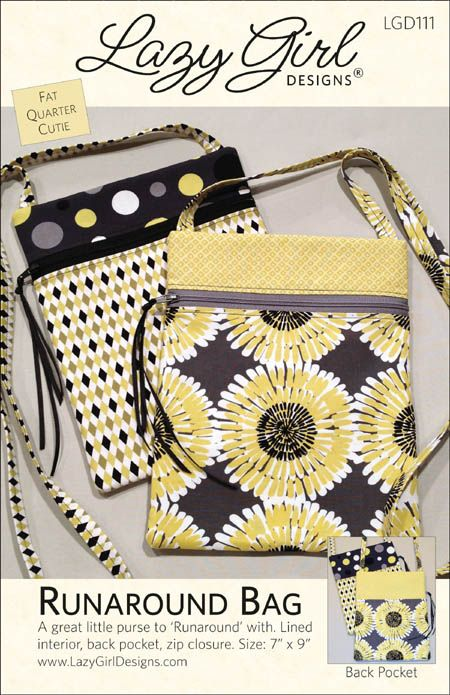 Giveaway: Runaround Bag Pattern and Dreamy Fusible Fleece