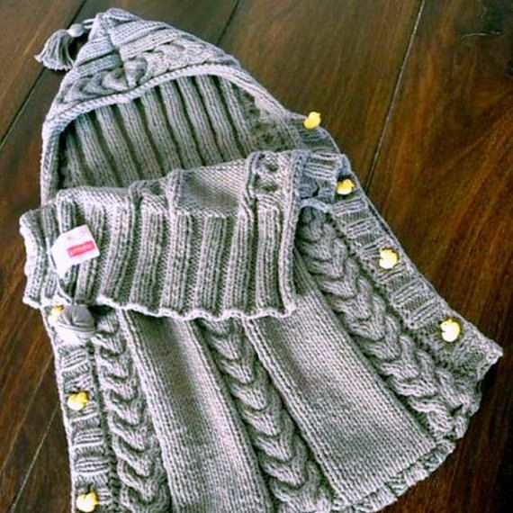 Pdf Knitting Pattern For A Baby Sleeping Bag Gorgeous