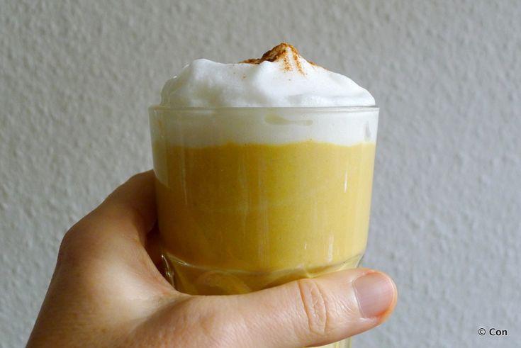Warme smoothie met zoete aardappel recept ~ minder koolhydraten, maximale smaak ~ www.con-serveert.nl