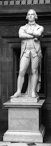 Statue of Samuel Adams