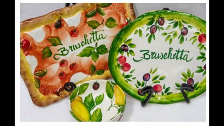 Coppola Artistica.Made/painted by hand ceramics imported from different regions of Italy,located in Venice,Florida!