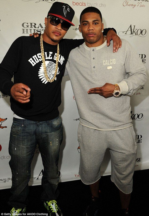 Nelly & T.I. ANOTHER ONE OF MY FAVORITE RAPPERS..THE FUNNY THING IS I DON'T CARE FOR RAP ARTIST