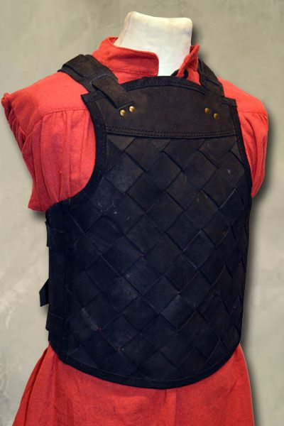 RFB Viking Leather Armour - Black - Small
