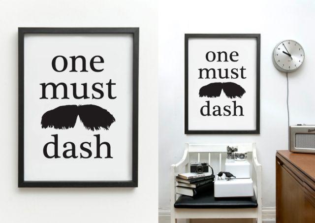 Póster Tata Print de One Must Dash. ¡Dale una nueva imagen a tu casa! #oneMustDash #poster #lamina #print #artPrint #decoration #decoracion #estiloescandinavo #scandinavian #estilonordico