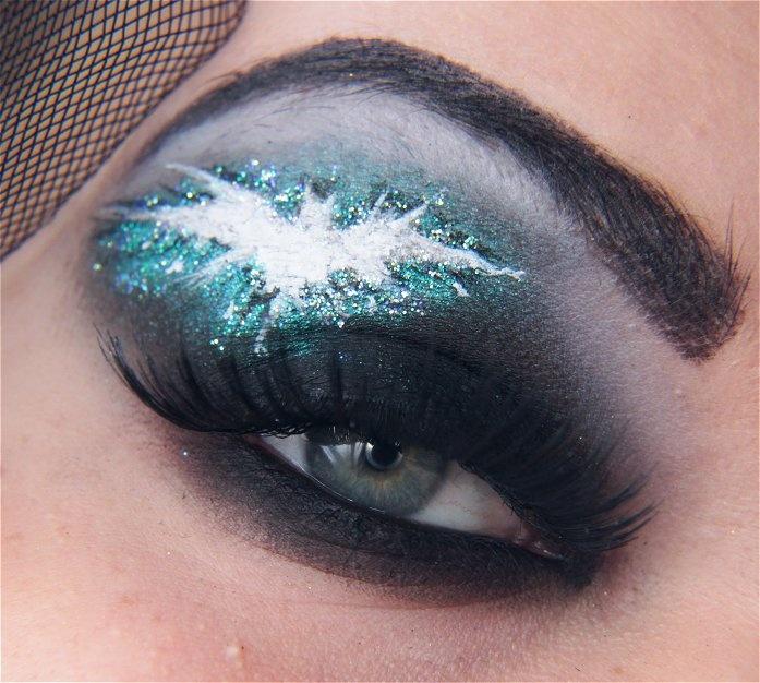 b for bel: Batman Inspired Eye Make-Up #geek #nerd