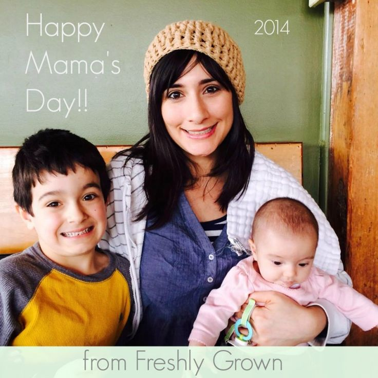 Happy Mama's Day from Freshly Grown!! Thanks to all of you Mamas for liking and supporting the blog, trying our recipes and engaging in holistic health questions!! #mothersday #thankful #mamas