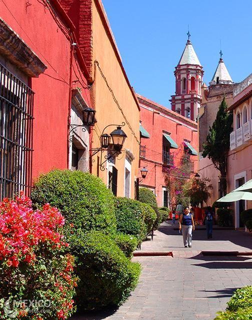 una imagen de Querétaro, maravillosa Cd. que deben visitar después de ir al festival de 100 vinos mexicanos este fin de semana.