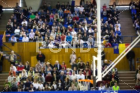 Blurred Background Of Crowd Of People In A Basketball Court Stock Photos Ad Crowd People Blurred Background Blurred Background Basketball Court Blur