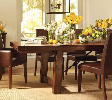 17 best images about formal dining room on pinterest city apartments dark wood and expandable. Black Bedroom Furniture Sets. Home Design Ideas