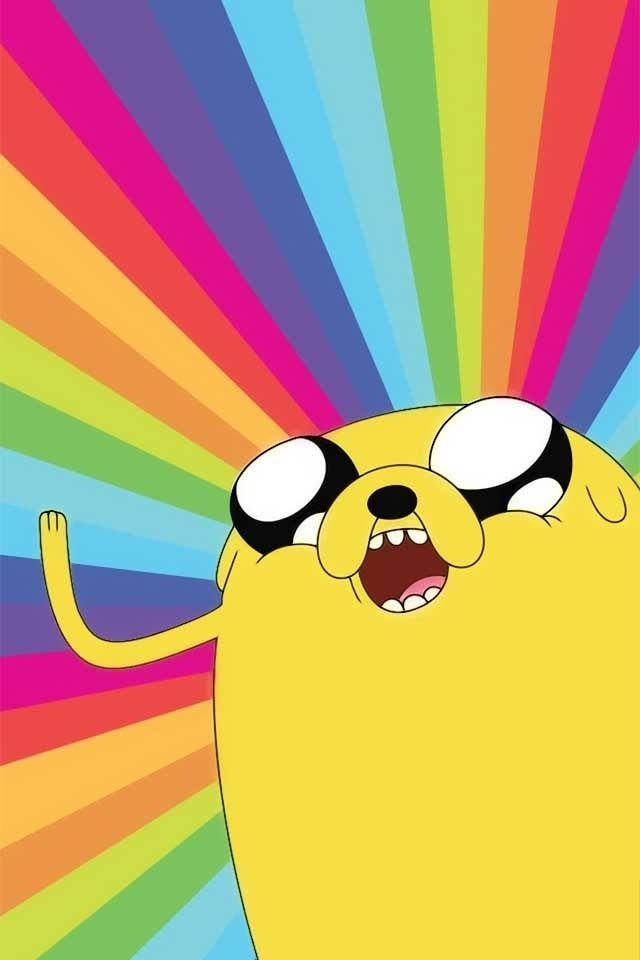 Adventure time - Jake rainbow