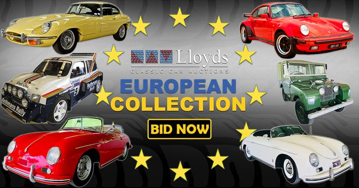 European Classics Coming Home For Free! View & Bid Here: https://www.lloydsauctions.com/