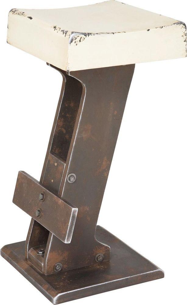 Tresenstuhl Barhocker Barstuhl Tresenhocker Weiß Vintage Loft Neu KARE Design