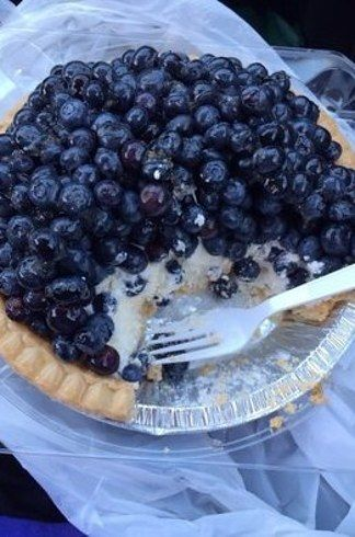 Blueberry Cream & Strawberry Rhubarb from Briermere Farms in Riverhead, New York. | 24 Of The Most Delicious Pies In America