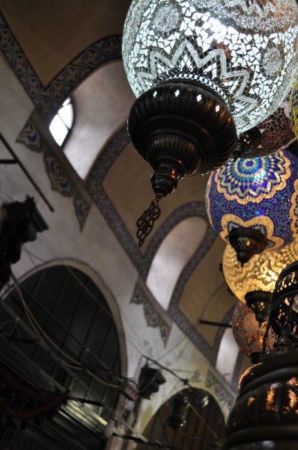 Istanbul (maybe just Turkish) market lights