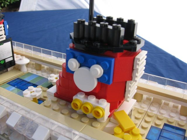 Lego Cruise Ship Funnel