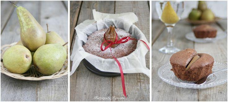 Ciasto migdałowe z gruszką