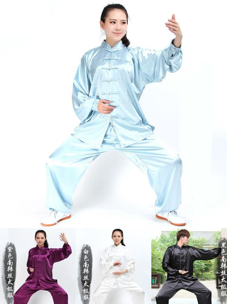 [Visit to Buy] Long Sleeve Traditional South-Korea Rayon Material Suit Chinese Kung Fu Tai Chi Uniform Spring Autumn Shirt Pants for Men Women #Advertisement