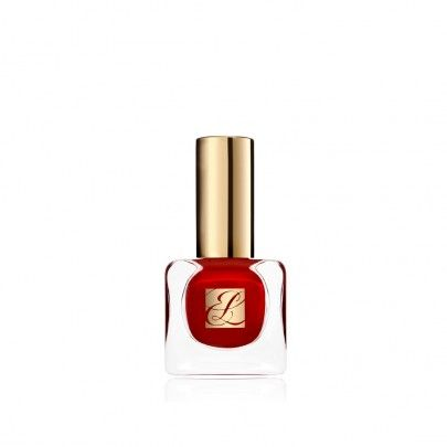 Estee-lauder, Pure Color Nail Lacquer.  Turn your fingertips into fashion statements with a wardrobe of sensational shades. Formulated with True Vision™ technology to transform ordinary color and make it extraordinary. Fast-drying, long-wearing formula delivers high coverage. Resists chipping.