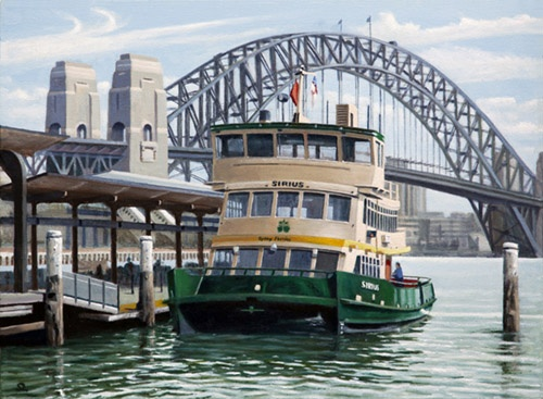 ferry at Circular Quay - sydney ...