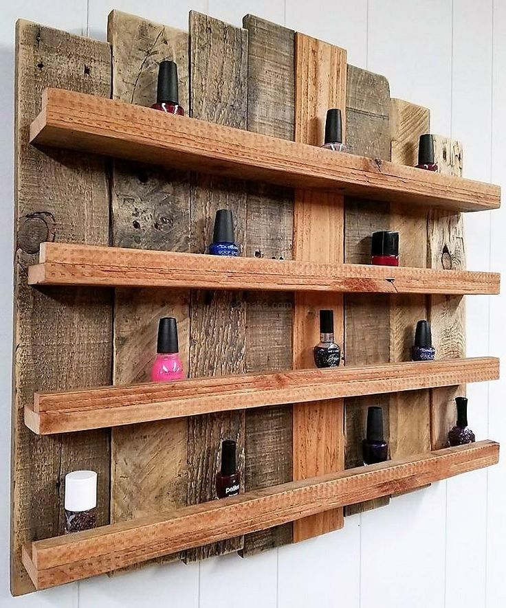 885 Best Pallet Shelves Images On Pinterest