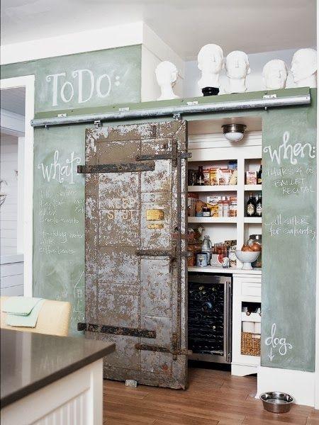 wooden sliding door-houten deur