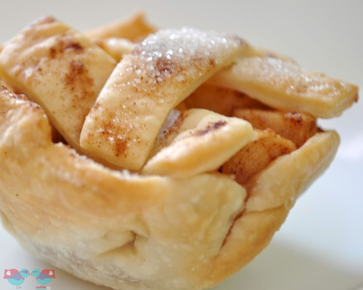 These individual apple pies have become a Thanksgiving tradition, especially because they are so easy to serve for a large party!