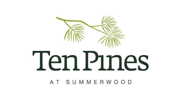 Our logo. Our brand. Our personality. Ten Pines at Summerwood Apartment community. Proudly managed by Lincoln Property Company in Houston, TX.