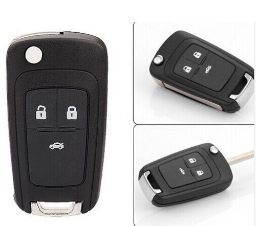 Keyless Entry NEW Folding Flip FOB Remote KEY Case Shell replacement for 2011 2012 2013 Chevy Chevrolet Cruze 3 Buttons. For product info go to:  https://www.caraccessoriesonlinemarket.com/keyless-entry-new-folding-flip-fob-remote-key-case-shell-replacement-for-2011-2012-2013-chevy-chevrolet-cruze-3-buttons/
