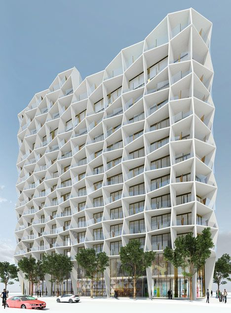 Miami design district residential tower Studio Gang Architects