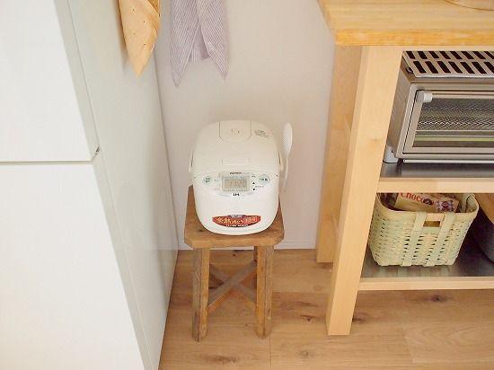 右上のトースター/ビタントニオ - 北欧、暮らしの道具店・安田さんのお宅