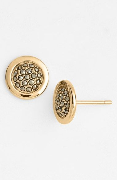 round about stud earrings / judith jack