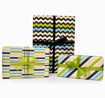 Inka Azure - Sheet Wrap  $14.95 for 6 sheets: Gifts Wraps, Inka Gifts