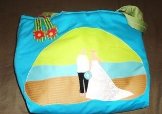 Custom Beach Bags for your special day