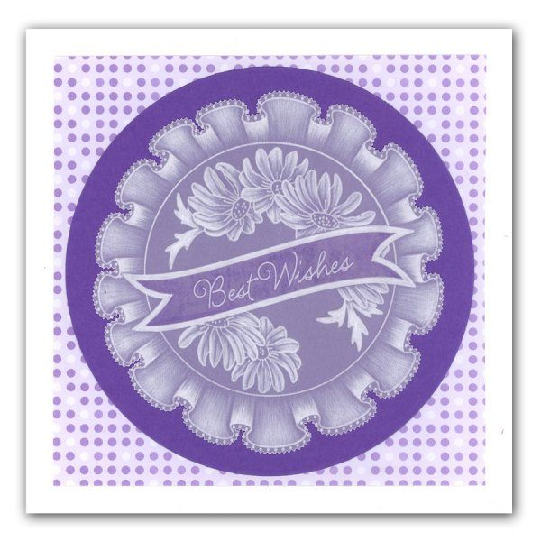 Claritystamp Groovi Plates - Frilly Circles - Claritystamp from Crafter's Companion UK