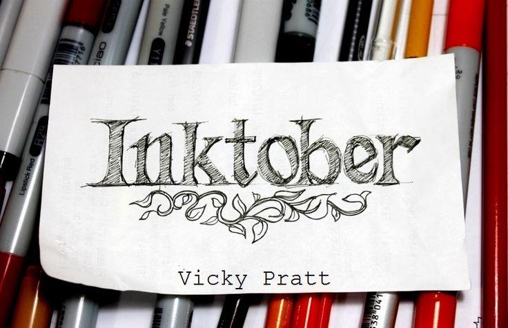 By Vicky Pratt. Copic Multiliner. For Inktober 2015. www.vicpratt.wix.com/vickypratt Find me on FB and IG Vicky Pratt - Illustrator.
