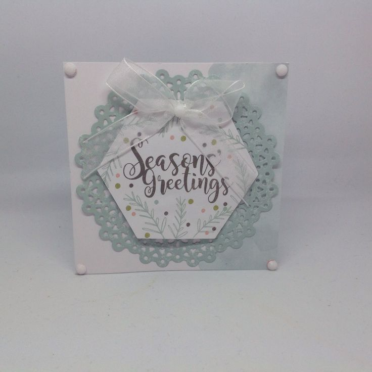 Card designed by Jennifer McKibben Kray using Peppermint Forest Collection