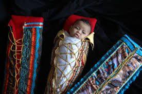 women's traditional ribbon cloth dance native american - Google Search