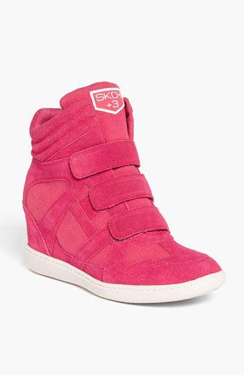 I need it! SKECHERS 'Plus 3 Raise the Bar' Wedge Sneaker (Women) | Nordstrom