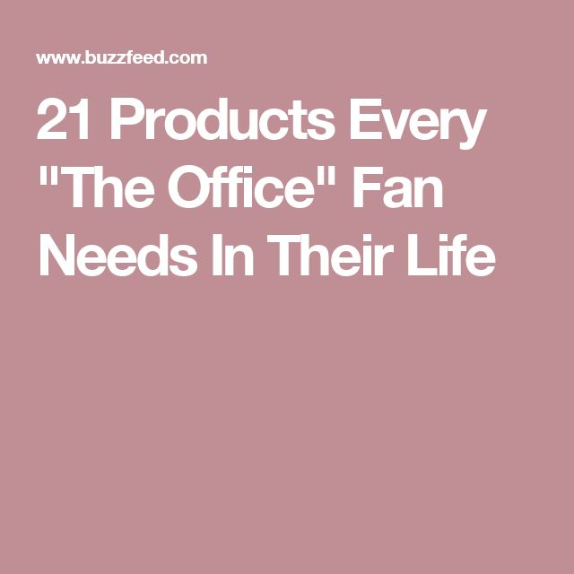 """21 Products Every """"The Office"""" Fan Needs In Their Life"""