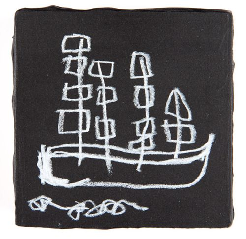 the ship that thought it was on rough water1 5/8″ x 1 1/2″ x 1...