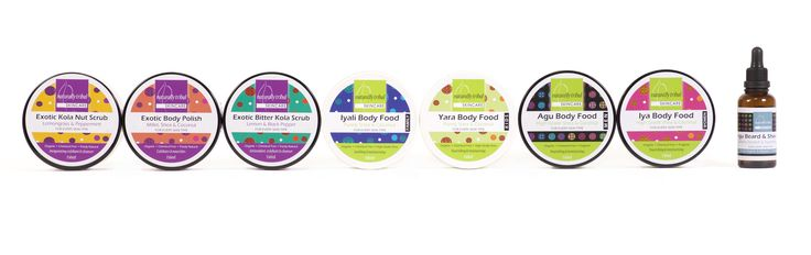 The full range of Naturally Trial Skincare products available