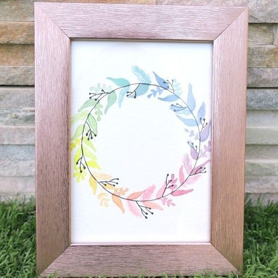 We sent our For Me DIY Kit - January Edition - Rainbow Watercolor Wreath - to a couple of Moms for their honest reviews. Who needs more of 'me time' than a Mother, right? One of them is Harkee, who writes the popular blog @astheygrow.me. You can find an excerpt from her review below and read the full post on her blog via the link in her profile. More than anything else, what made us happiest is that she put the kit to good use and painted that wreath. Look at that gorgeous wreath people…