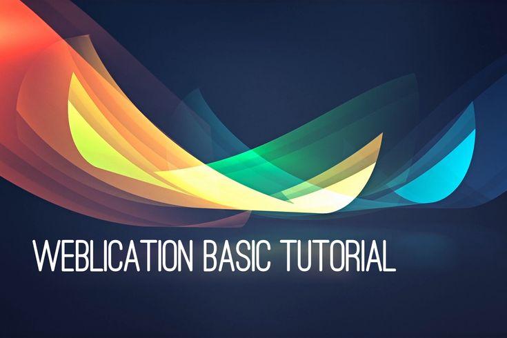 Weblication Basic Tutorials   Lizenzen - Projektkonfiguration - Installation der Weblics