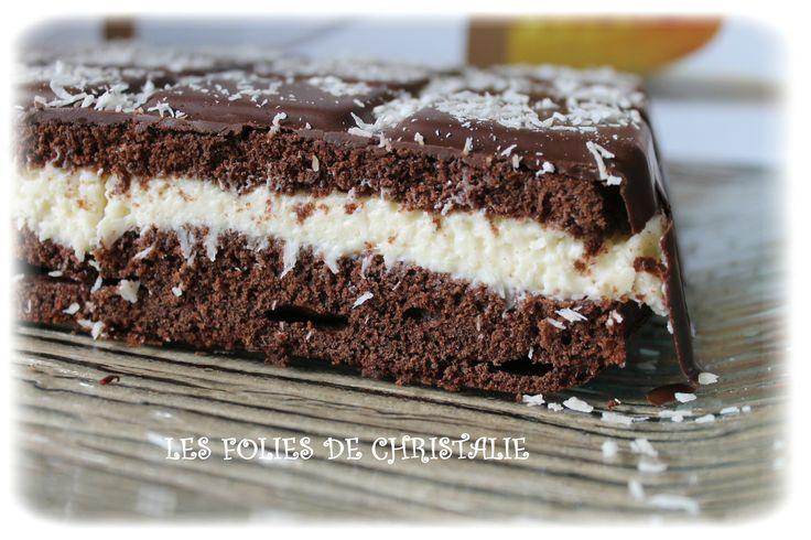 Gâteau au chocolat de style Kinder