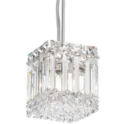 Quantum Square Pendant by Schonbek. would be FANTASTIC in a glam bathroom!!