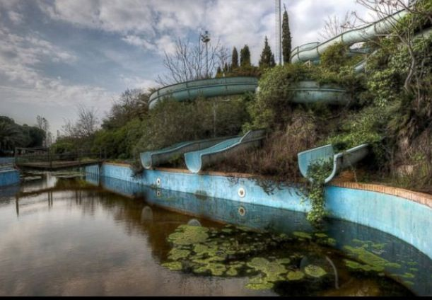 Creepiest abandoned water park #2