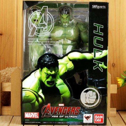 Bandai Tamashii S H Figuarts The Avengers Age Of Ultron Hulk Action Figure 619956481377 Ebay Avengers Age Figuar Hulk Action Figure Avengers Age Age Of Ultron