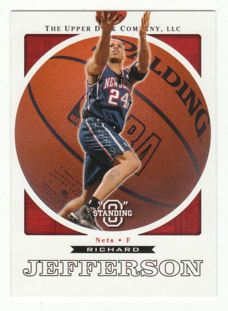 Richard Jefferson # 49 - 2003-04 Upper Deck Standing O Basketball