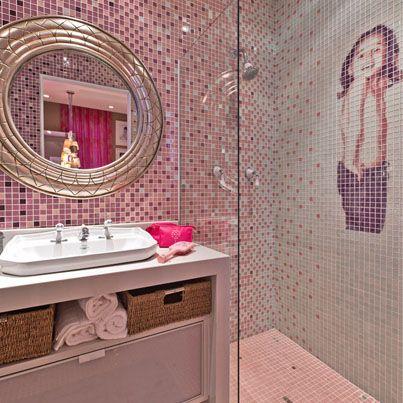 Luiza de Vestido: Banheiro infantil