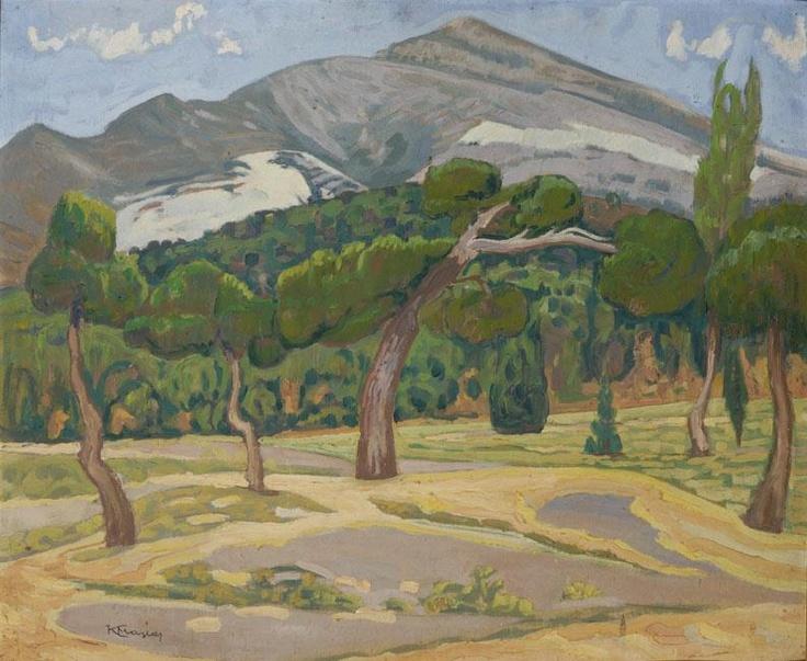 Constantine Maleas, Penteli Landscape